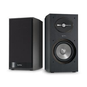"Reference 162 - Black - 6-1/2"" 2-Way Bookshelf Speakers - Hero"