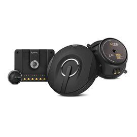 "Kappa 50.11cs - Black - 5-1/4"", two-way, component speaker system - Hero"